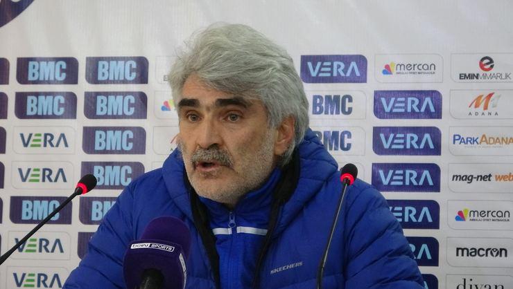 Adana Demirspor Teknik Direktörü Uğur Tütüneker
