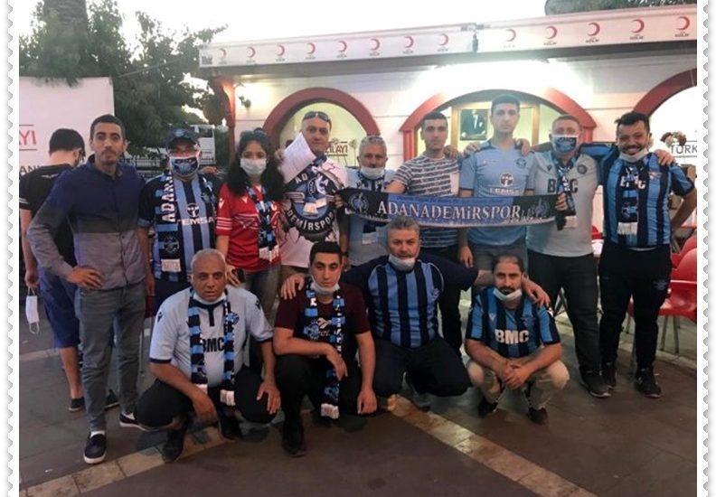 Adana Demirspor taraftarları